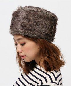 上品なシルエットでファーが冬にぴったりな可愛いロシアン帽!大人のファー帽子