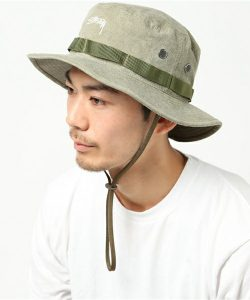 【STUSSY】 STF Dyed Boonie Hat
