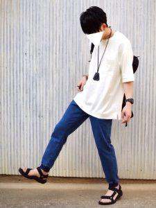 ジョガーパンツのコーデ・着こなし【春夏編】