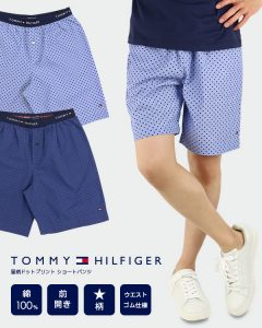 It becomes with the short pants of the pattern [TOMMY HILIGER (トミーヒルフィガー)]