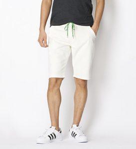 ジーンズなのにジャージみたいな履き心地のブランドおすすめなジャージーズのハーフパンツ