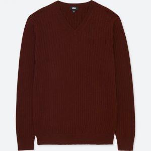 トレンド感たっぷりのリブ編みユニクロのセーターです!