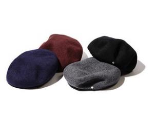 ベレー帽とは?バスクベレー・ミリタリーベレー