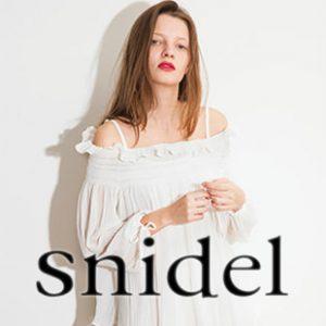 snidel(スナイデル)は女子心をくすぐる可愛い服がいっぱい♡