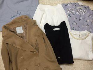 福袋の中身のカラーは開けてからのお楽しみ♡キャメルのコート