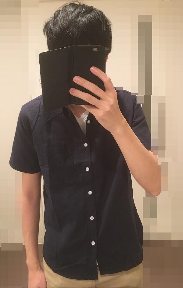 スプートニクスの綿麻シャツ7分袖を着た感想