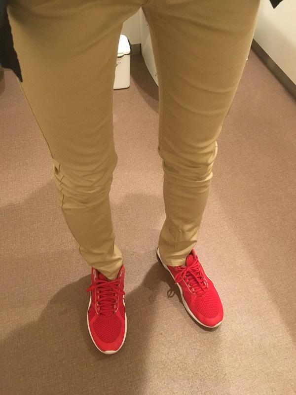 スプートニクスのスキニーパンツを着た感想